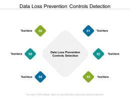 Data Loss Prevention Controls Detection Ppt Powerpoint Presentation Clipart Cpb