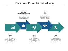 Data Loss Prevention Monitoring Ppt Powerpoint Presentation Inspiration Objects Cpb