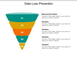Data Loss Prevention Ppt Powerpoint Presentation Pictures Slide Portrait Cpb
