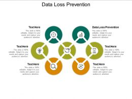 Data Loss Prevention Ppt Powerpoint Presentation Summary Gridlines Cpb