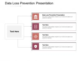 Data Loss Prevention Presentation Ppt Powerpoint Presentation Infographic Template Icons Cpb