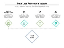 Data Loss Prevention System Ppt Powerpoint Presentation Portfolio Graphics Example