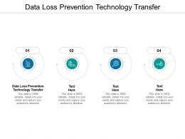 Data Loss Prevention Technology Transfer Ppt Powerpoint Presentation Gallery Cpb