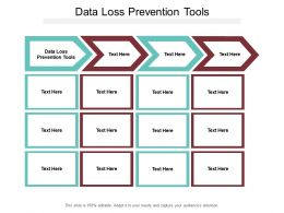 Data Loss Prevention Tools Ppt Powerpoint Presentation Gallery Themes Cpb