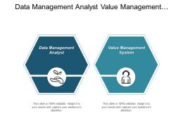 Data Management Analyst Value Management System Corporate Operation Cpb