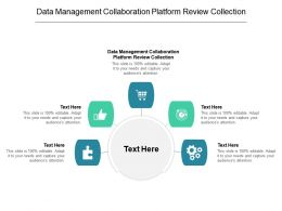 Data Management Collaboration Platform Review Collection Ppt Powerpoint Presentation Pictures Gridlines Cpb