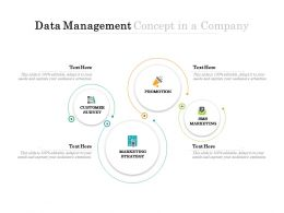 Data Management Concept In A Company