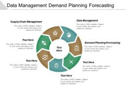 Data Management Demand Planning Forecasting Supply Chain Management Cpb