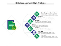 Data Management Gap Analysis Ppt Powerpoint Presentation Icon Inspiration Cpb