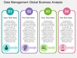 data_management_global_business_analysis_flat_powerpoint_design_Slide01