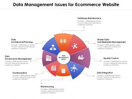 Data Management Issues For Ecommerce Website
