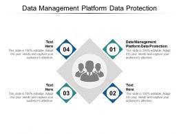Data Management Platform Data Protection Ppt Powerpoint Presentation Deck