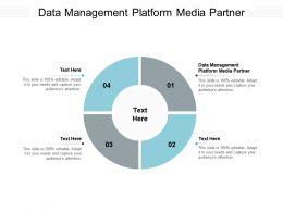 Data Management Platform Media Partner Ppt Powerpoint Presentation Outline Background Cpb
