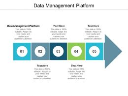 Data Management Platform Ppt Powerpoint Presentation Pictures Skills Cpb