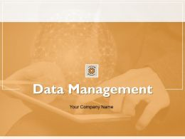 Data Management Powerpoint Presentation Slides