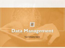 Data Management Powerpoint Presentation Slides