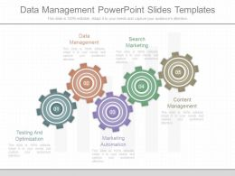 76975579 Style Variety 1 Gears 5 Piece Powerpoint Presentation Diagram Infographic Slide