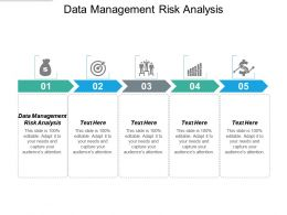 Data Management Risk Analysis Ppt Powerpoint Presentation Layouts File Formats Cpb