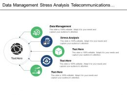 Data Management Stress Analysis Telecommunications Marketing Survey Analysis Cpb