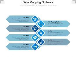 Data Mapping Software Ppt Powerpoint Presentation Professional Graphics Design Cpb