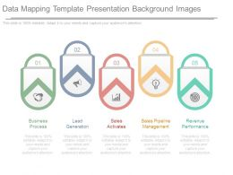Data Mapping Template Presentation Background Images