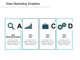 Data Marketing Analytics Ppt Powerpoint Presentation Gallery Graphics Download Cpb