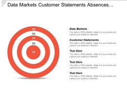 Data Markets Customer Statements Absences Vacation Timesheet Information