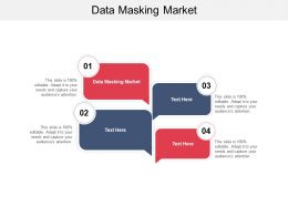 Data Masking Market Ppt Powerpoint Presentation Slides Visuals Cpb