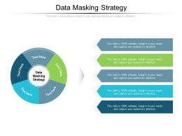 Data Masking Strategy Ppt Powerpoint Presentation Inspiration Graphic Tips Cpb