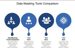 Data Masking Tools Comparison Ppt Powerpoint Presentation Icon Background Image Cpb