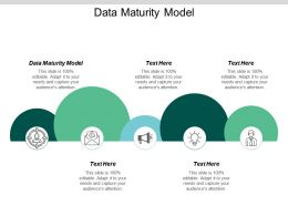 Data Maturity Model Ppt Powerpoint Presentation Gallery Background Cpb