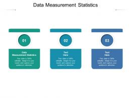 Data Measurement Statistics Ppt Powerpoint Presentation Diagram Ppt Cpb