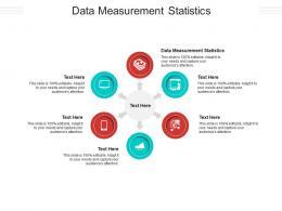Data Measurement Statistics Ppt Powerpoint Presentation Portfolio Design Templates Cpb