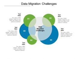 Data Migration Challenges Ppt Powerpoint Presentation Diagram Ppt Cpb