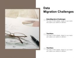Data Migration Challenges Ppt Powerpoint Presentation Styles Graphic Images Cpb