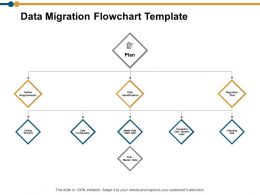 Data Migration Flowchart Ppt Powerpoint Presentation Model Templates