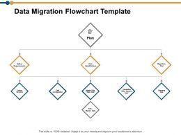 Data Migration Flowchart Ppt Powerpoint Presentation Model Templates