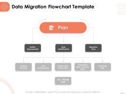 Data Migration Flowchart Template Identification Ppt Powerpoint Presentation Rules