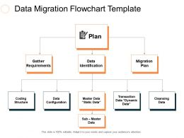 Data Migration Flowchart Template Ppt Slides Rules