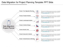 Data Migration For Project Planning Template Ppt Slide