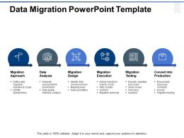 Data Migration Powerpoint Template Ppt Powerpoint Presentation Gallery Example File