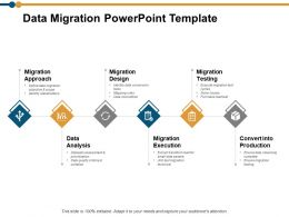 Data Migration Powerpoint Template Ppt Powerpoint Presentation Model Design Ideas