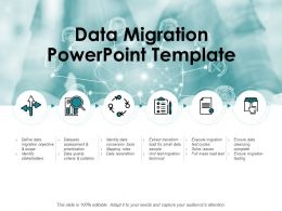 Data Migration Powerpoint Template Technology Ppt Powerpoint Presentation Show Topics