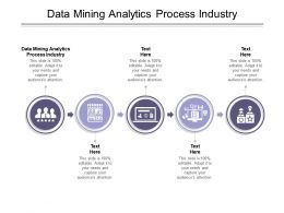 Data Mining Analytics Process Industry Ppt Powerpoint Presentation Ideas Examples Cpb