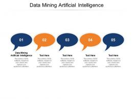 Data Mining Artificial Intelligence Ppt Powerpoint Presentation Slides Example Cpb