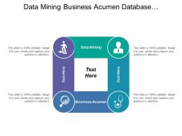 Data Mining Business Acumen Database Management Communication Skills