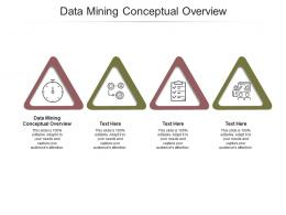 Data Mining Conceptual Overview Ppt Powerpoint Presentation Infographic Template Cpb