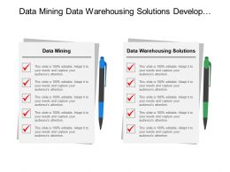 Data Mining Data Warehousing Solutions Develop Technical Requirements