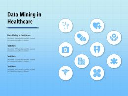Data Mining In Healthcare Ppt Powerpoint Presentation Infographics Shapes