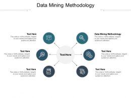 Data Mining Methodology Ppt Powerpoint Presentation Styles Design Templates Cpb